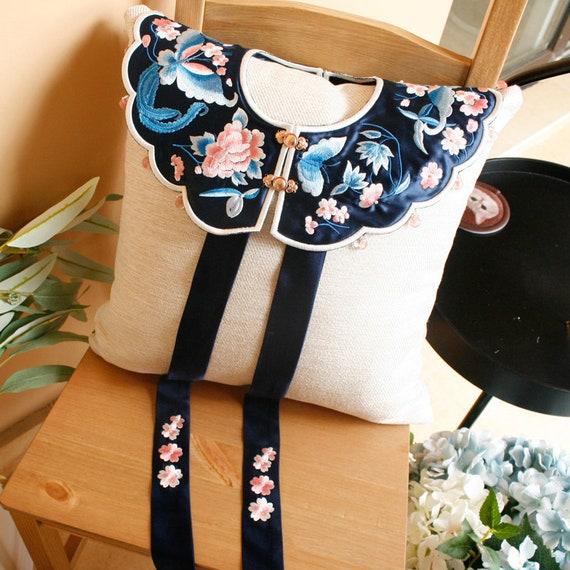 Handmade Embroidery Japanese Collar | Kawaii Colla