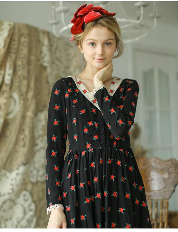 Fairy Romantic Vintage Dress | French Vintage Dres