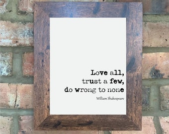 HOME DECOR LOVELY GIFT 2 WILLIAM SHAKESPEARE 400TH ANNIVERSARY QUOTE METAL SIGN