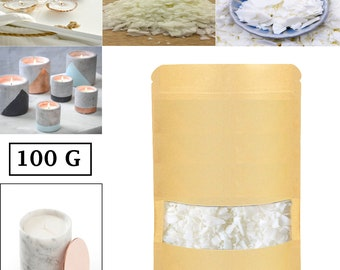 500gms Pure Soy Wax Handmade Candle Base Raw Material DIY Scented Candle