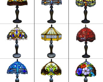 Tiffany Glass Hand Crafted Table Lamp