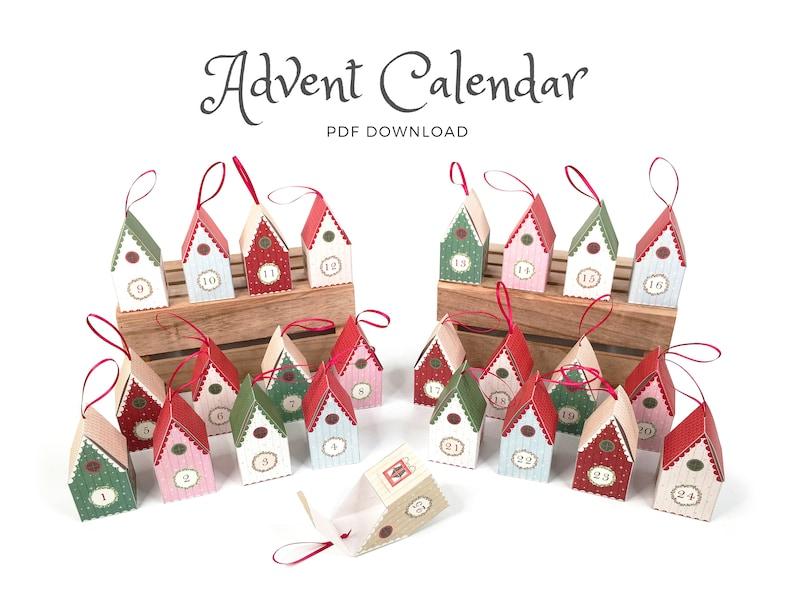 Printable Advent Calendar   Countdown to Christmas with this image 0