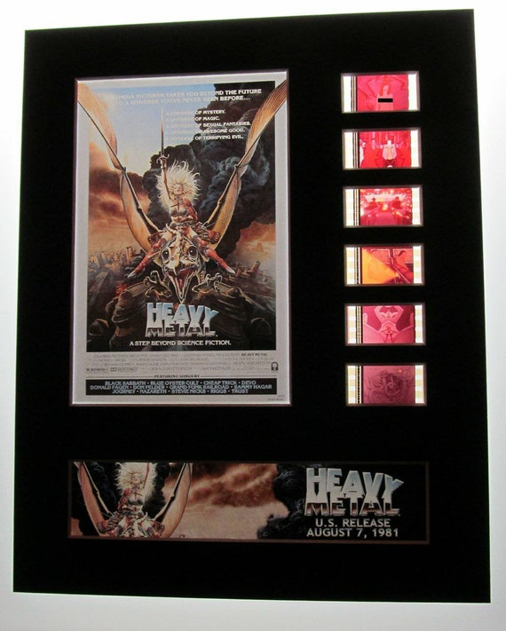 Heavy Metal 1981 Adult Animation Cartoon 8x10 Theatrical 35mm Etsy