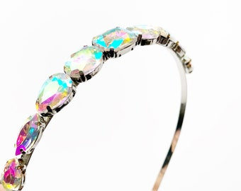 Gifts Under 30 - Sparkly Headband Birthday Gifts - Pastel Rainbow Headband - Multicolor Headband