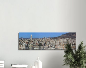 Panoramic view from Old City of Sana'a