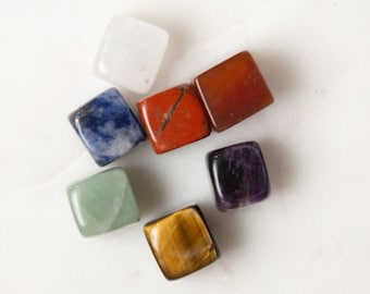 Beginners Crystal Chakra Gemstone Meditation Reiki Kit