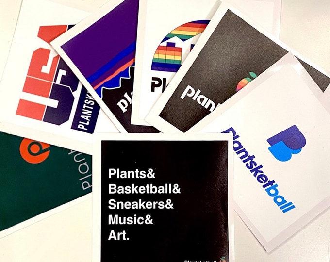 Plantsketball Sticker Pack