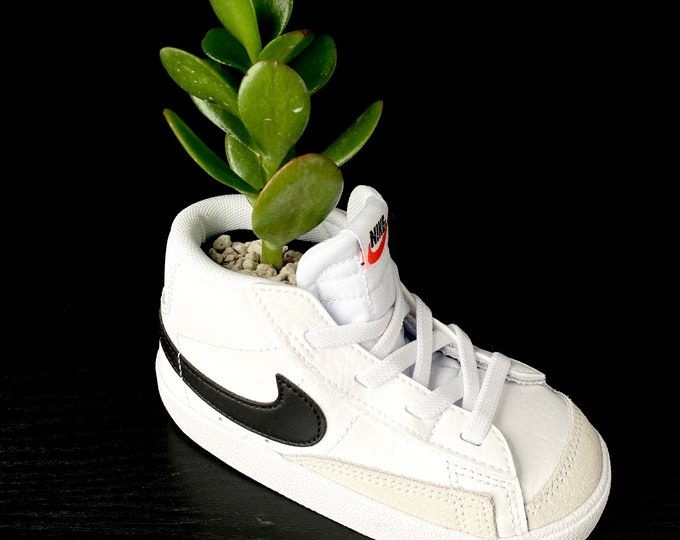 Blazer Mid Nike Sneaker Planter by Plantsketball