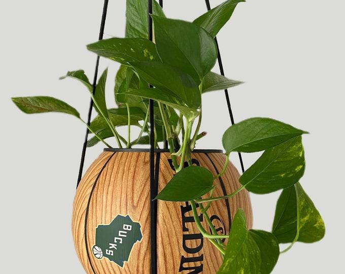 Wood Grain Milwaukee Bucks Plantsketball