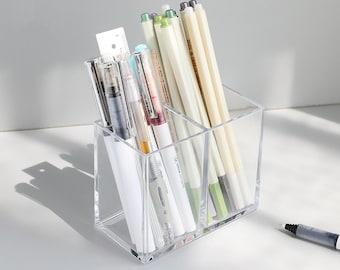 Acrylic Pen Holder Etsy