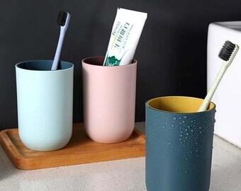 Nordic INS Style Round Pen Holder,Desktop Pen Storage Box,Cosmetic Brush Storage Box,Box Storage