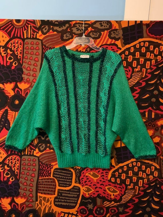 Ultra Fab 60's Batwing Mohair Sweater