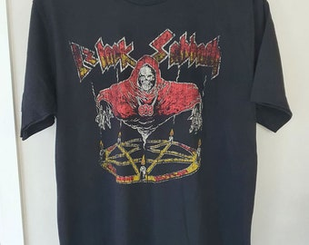 "Black Sabbath T-shirt Vintage Look Retro T-shirt L Size 21"""