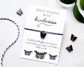 Harry Styles Wish Bracelet, Butterfly Tattoo Charm Bracelet, Harry Styles Gift, Harry Styles Jewellery, Butterfly Tattoo Bracelet