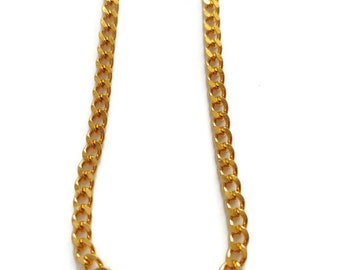 """YG Curb Necklace in Ion Plated Stainless Steel (24"""") 17.40 g"""