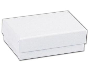 White Swirl Jewelry Boxes