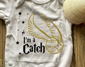 Quidditch Wizard Shirt Cool Gift Gryffindor Cute Gerber Onesies