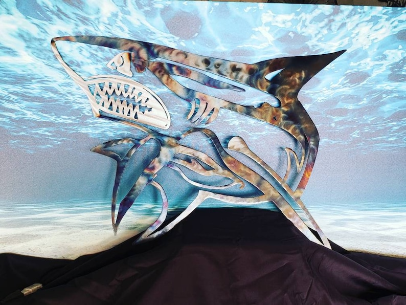 Metal Wall Art: Shark
