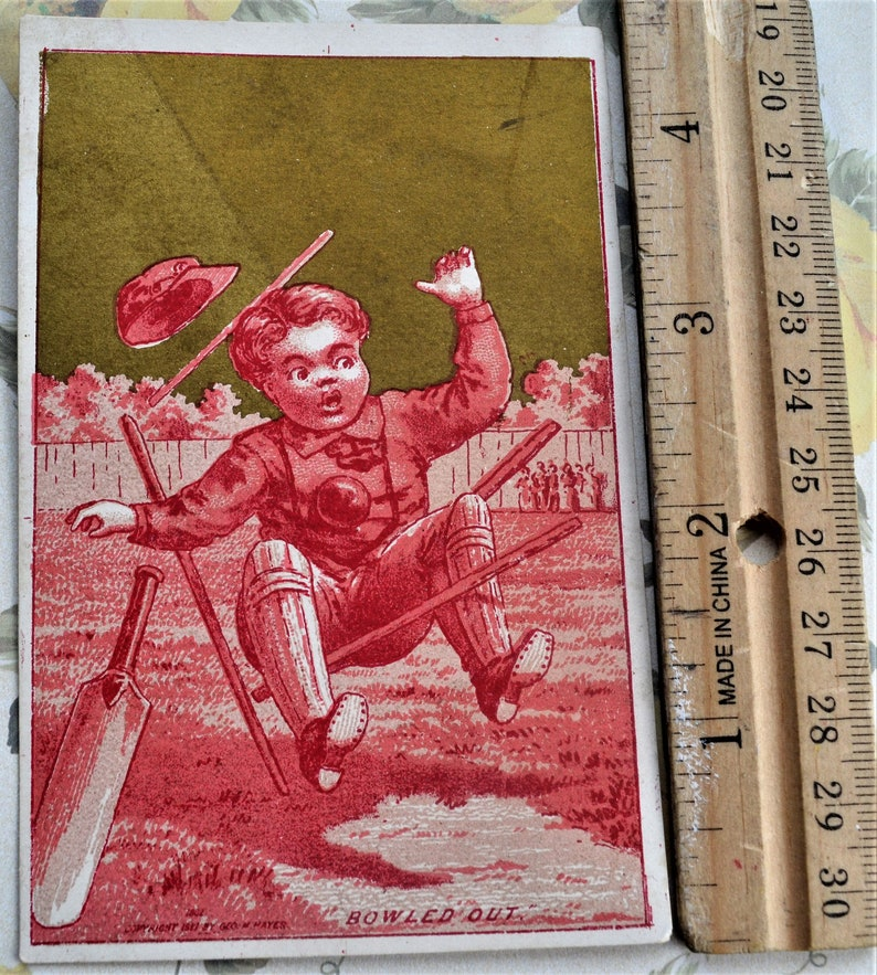 Victorian Trading Cards Lot of 3 Antique Clark/'s O.N.T spool cotton advertising card Vintage Ephemera Paper