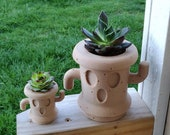Animal Crossing Gyroid Planter (3D Printed) Succulent Planter Air Plants Gifts For Gamers