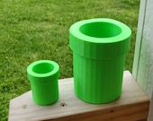 Super Mario Pipe Planter | Warp Pipe Planter (3D Printed) | Gifts For Gamers