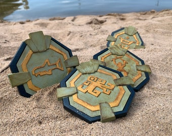 Sea of Thieves Inspired Compass Vault Medallion