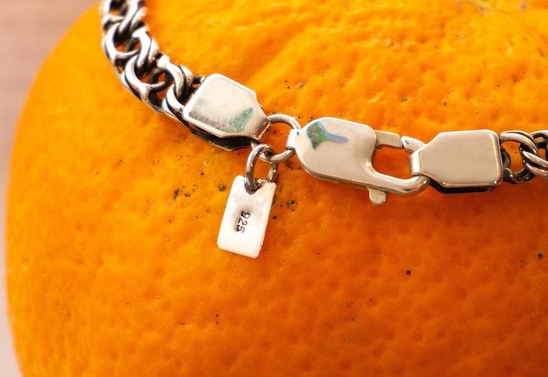 Replica Arabic Bismarck SILVER 925 bracelet for women and men handmade unisex