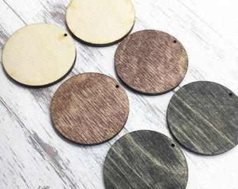 Wooden studswalnut earringsminimalisticboho chic jewelrysquare round minimalist jewelrywooden earringshypoallergenic earringshexagon