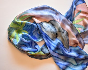 Flowing Stream Large Scarf