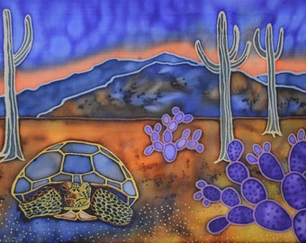 Sonoran Desert Tortoise 8x10 Print
