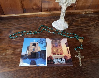 Vintage Postcard - San Miguel Mission in Santa Fe, New Mexico - Oldest Church in the U.S.A.