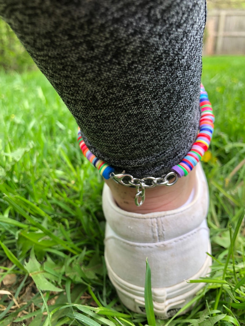 Colorful anklet