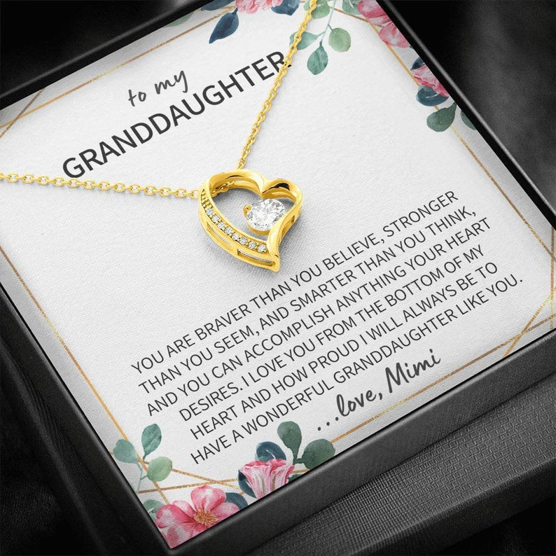 Granddaughter Gift Granddaughter Gift Ideas Gift For Granddaughter Gifts For Granddaughter From Mimi Granddaughter Gifts From Mimi
