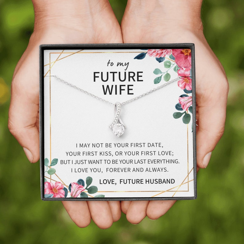 Future Wife Gift Future Wife Necklace Future Wife Gifts Gifts For Future Wife Gift For Future Wife To My Future Wife Gift Ideas