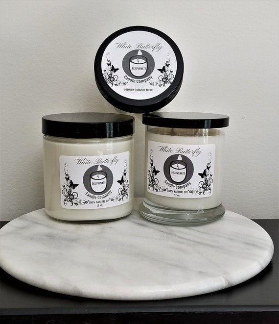 100/% Natural Soy Candle OR Premium ParaSoy Blend Wax Melts for Wax Warmers Orange Blossom
