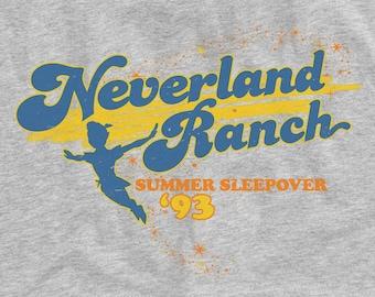Neverland Ranch Summer Sleepover '93 Funny Graphic Unisex T-Shirt