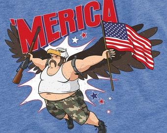 Merica USA Unisex T-Shirt