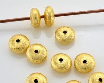 5x3mm Fancy Saucer Spacers Antiqued Bronze Colored Beads Ropy Edged Fancy Rondelle Spacer Beads Bulk available