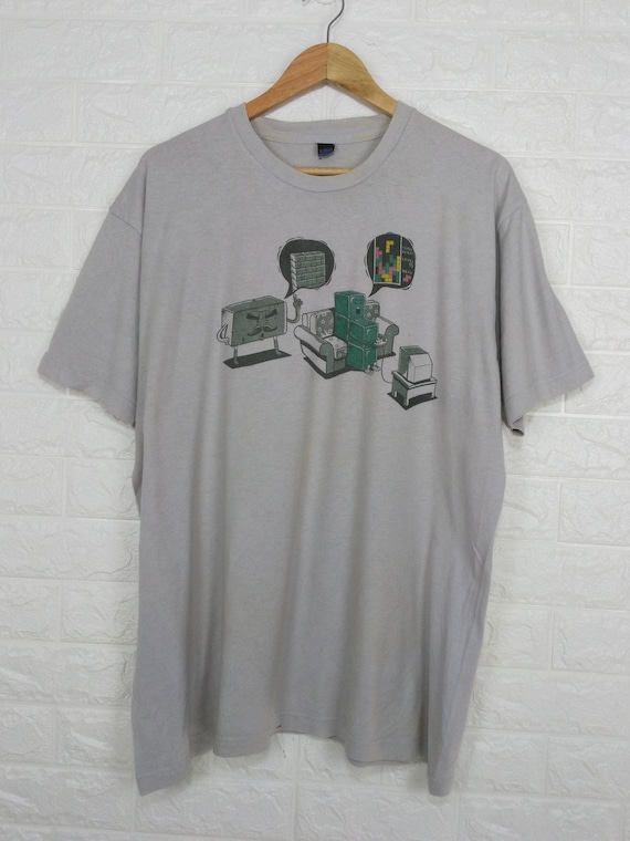 Vintage Blocks Brick Game Funny T Shirt Size XL