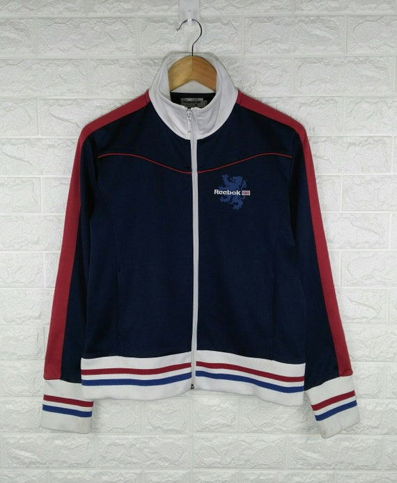 REEBOK CLASSIC Track Top Vintage 90's Tracksuit Tr