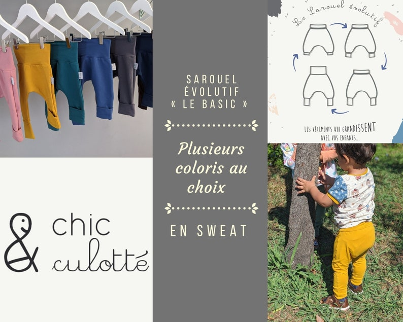 Sarouel Evolutionary Sweat  Basics sweat collection  Oeko image 0
