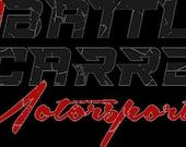 Battle Scarred Motorsports Sticker