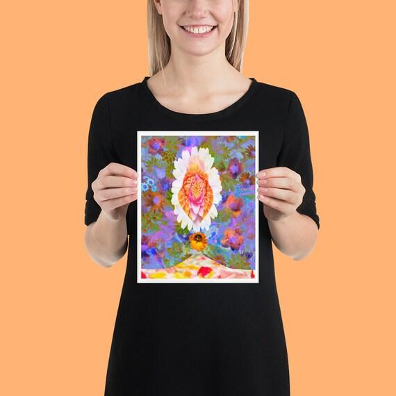 Mila Armpit Flowers Poster