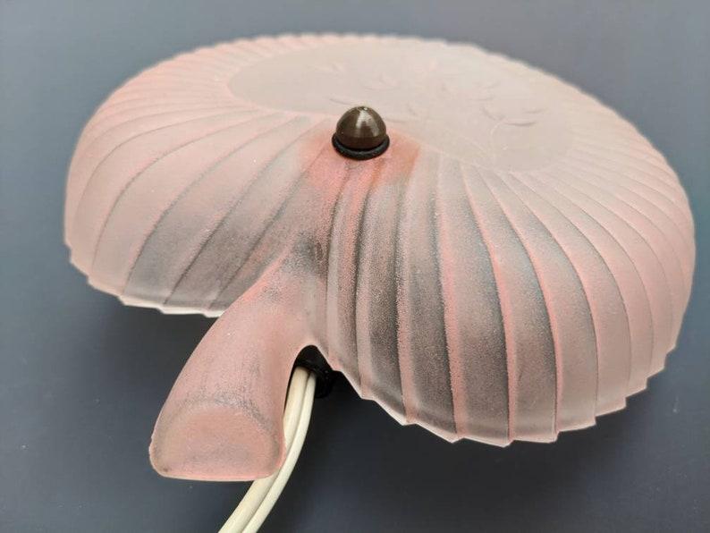 Sconce a forma di foglia rosa vintage design scandinavo da l0CBWTkR
