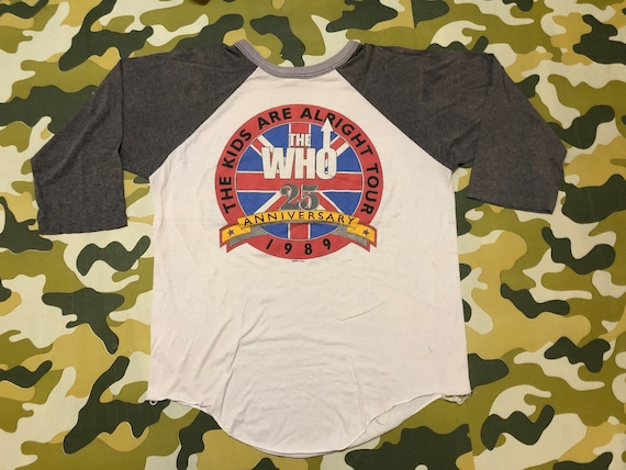 Rare Vintage The Who 25th anniversary The Kids Ar… - image 1