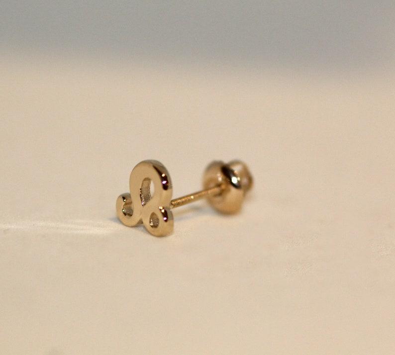 November 22 gold earrings Birthday Earrings Celestial earrings 14k gold Scorpio Gold Earring October 23 Constellation Earring studs