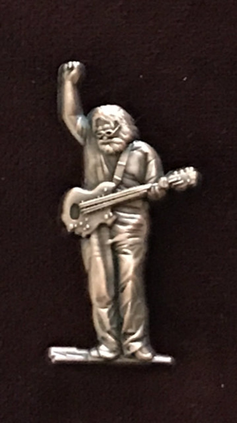 Grateful Dead Jerry inspired 3D Pin