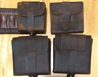Mandalorian Leather Pouch Set Patterns - Cosplay