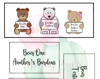 LDS Baptism Bears Talk