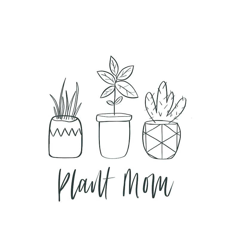 Download Plant Mom Succulent Svg Cute Cactus Summer Printable Wall ...